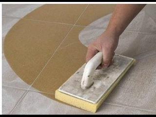 Правильная затирка швов напольной клинкерной плитки