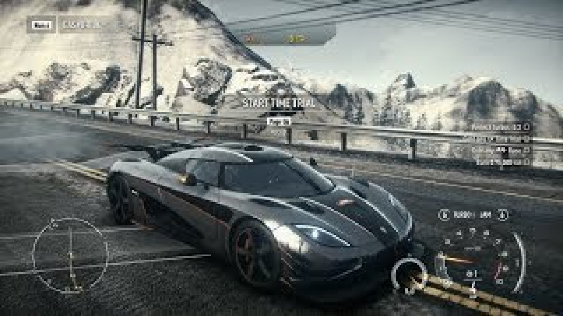 Need For Speed: Rivals PC: Fully Upgraded Koenigsegg Agera One:1 Racer Gameplay