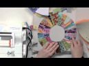 String Piecing on a Curve: Candy Ring Block