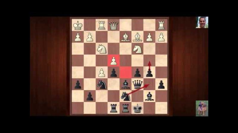 Maxime Vachier-Lagrave vs Veselin Topalov : Norway Chess (2015) : Rd3 : Semi-Slav