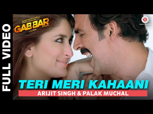 Teri Meri Kahaani Full Video | Gabbar Is Back | Akshay Kumar Kareena Kapoor | Love Romance song