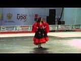 Цыганский танец. Взрослые, соло женщины, финал