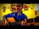 Михаил Щербаков - Австралия, ЛЯМБДА, кавер на гитаре, простые аккорды,