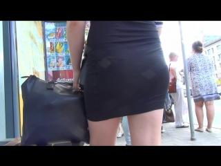SEXY GIRL !!! Девушка в короткой юбке !!! Part Two