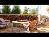 Мир необычных идеи для дачи и сада из обычных дров своими руками