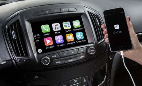 Opel Insignia с CarPlay & OnStar