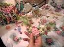 How to make French ribbonwork silk flowers