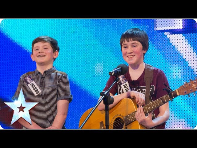 Jack and Cormac sing 'Little Talks' | Week 5 Auditions | Britain's Got Talent 2013