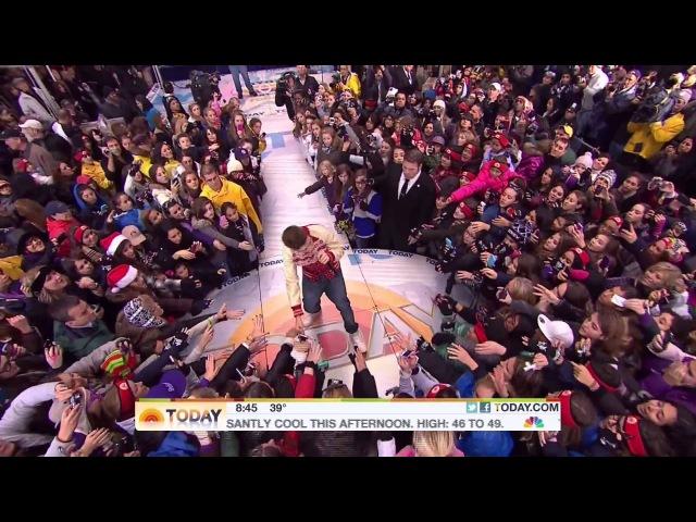 Justin Bieber - Mistletoe - Live Today Show - 23/11/2011 » Freewka.com - Смотреть онлайн в хорощем качестве