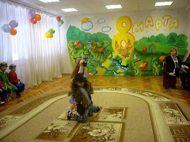 Танец Кота Базилио и лисы Алисы в дет.саду на 8 марта!