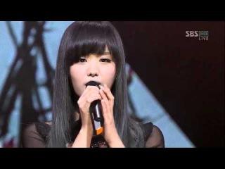 [sbs 인기가요] 송지은 - 미친거니 (feat. 방용국) 614회 2011년3월27일 일요일