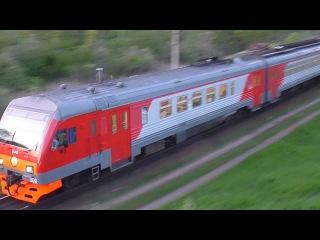 Дизель-электропоезд №6161/6561 Санкт-Петербург - Луга - Псков. ДТ1-009.