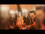 President Obama finds time for a dance at event in Kenya