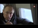 Путин с вертолета осмотрел строительство Керченского моста