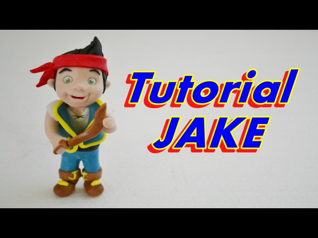 [vk.com/LakomkaVK] JAKE AND THE NEVER LAND PIRATES CAKE TOPPER FONDANT (Джейк и пираты Нетландии)