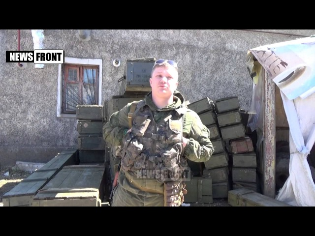 Ополченец «Красавчик» бывшим сослуживцам с Украины: Ребята, встаньте за народ, а не за власть!