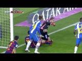 Грязная игра против Месси в кубке Испании.