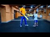 Боксёрская тренировка с ребенком в METRO FITNESS