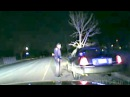Dashcam Video Shows Woman Driving With Tree Stuck In Her Car