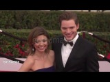Sarah Hyland & Dominic Sherwood at the 22nd Annual Screen Actors Guild Awards