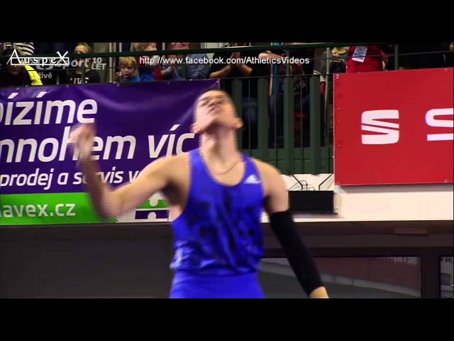 Emmanouil Karalis 5.54m indoor WYB Jablonec 2016