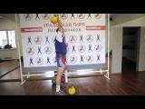 Упражнения с гирей: фиксация / exercises with kettlebells: fixing