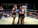 Aurore KO'S Jade (Australia) in the first round @ Patong Boxing stadium