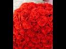 Розы из гофрированной бумаги для декора объемной цифры или буквы.