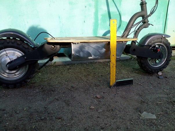 Самокатная платформа с торсионной подвеской БЭШка