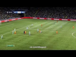 Видеообзор первого матча Лиги чемпионов 'Астана' - АПОЭЛ (1:0)