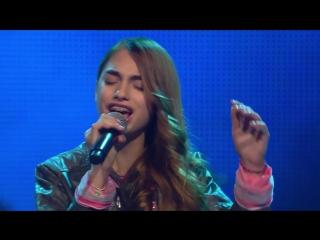 Beyoncé - Crazy In Love (Noah-Levi, Luna, Michele) The Voice Kids 2015 Battles SAT.1 [HD, 720p]