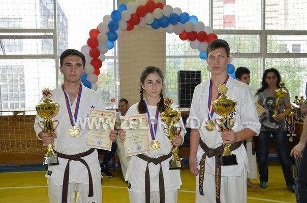 Зеленчукские школьники стали Чемпионами России по карате