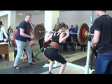 Присед, 3 подход. Дементьева Юлия, 67,5 кг