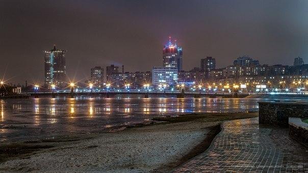 Ночной Донецк... Я так скучаю