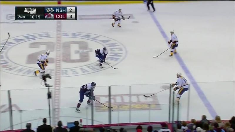 NHL 05/16, RS: Nashville Predators vs Colorado Avalanche 08.01.2016