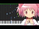 Decretum - Mahou Shoujo Madoka Magica [Piano Tutorial] (Synthesia) // JB AnimePiano