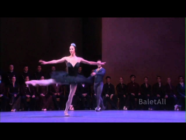 2010 Zurich Ballet Swan Lake Black PDD Coda Polina Semionova Stanislav Jermakov