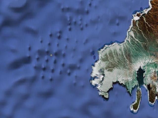 Сокрытие следов Даарии на картах гугл (вид со спутника)