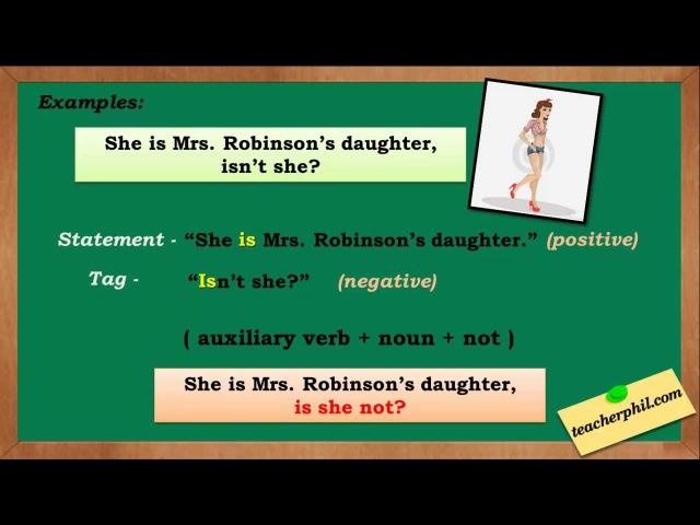 Tag Questions English Grammar