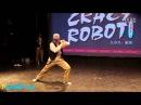 Poppin John vs Boogie frantick in crazy robot vol 2 final