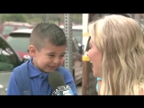 This Heartless Reporter Makes A Boy Cry On His First Day Of School