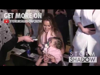 Alyssa Milano, her adorable daughter Elizabella and more Celebrities Front Row for the Marissa Webb