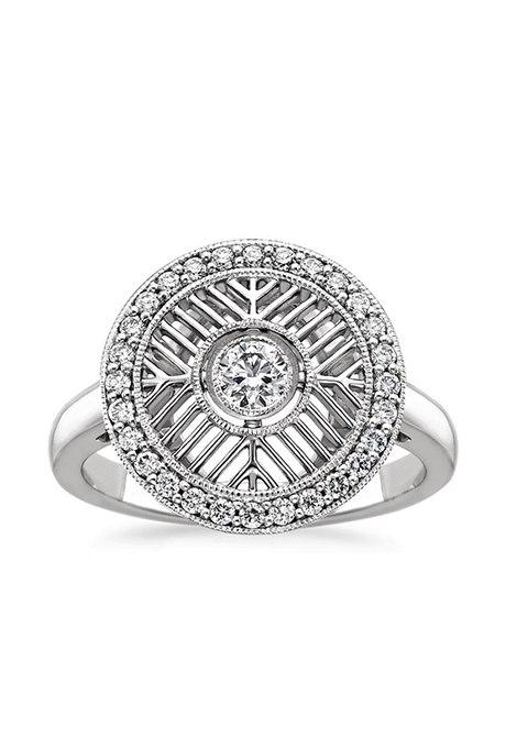 Обручальные кольца в стиле «Vintage-Inspired»