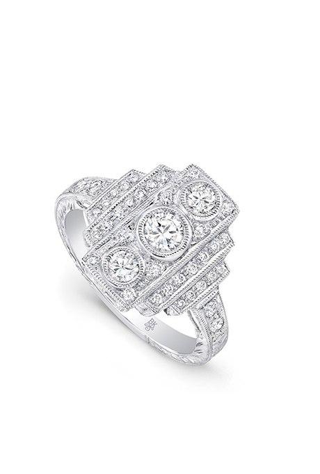 CWOHyHXZrXQ - Обручальные кольца в стиле «Vintage-Inspired»
