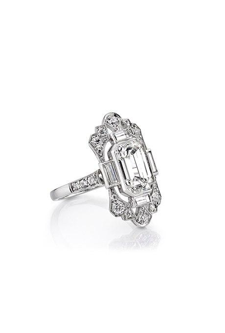 1ef6 0XAXmI - Обручальные кольца в стиле «Vintage-Inspired»