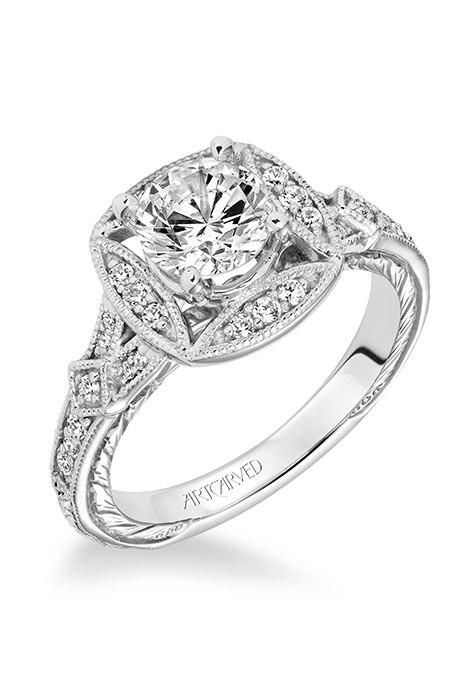 nVftnR mGJA - Обручальные кольца в стиле «Vintage-Inspired»