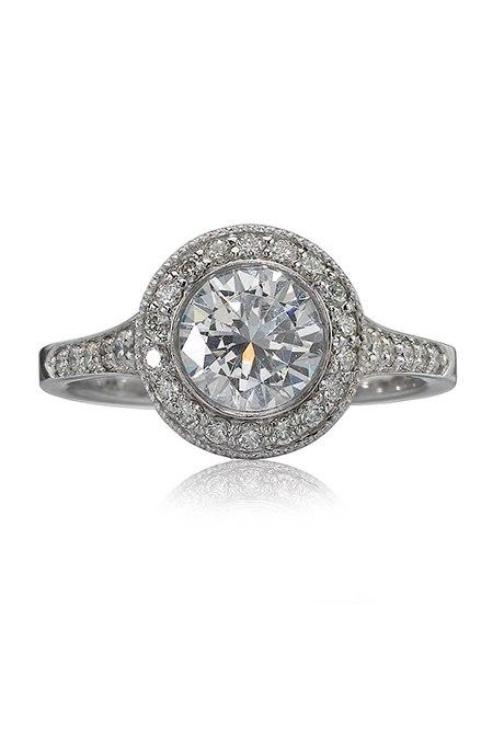 7vaqMcMASkI - Обручальные кольца в стиле «Vintage-Inspired»