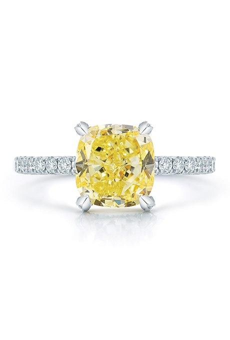 GUwfBruWu7c - 30 ослепительных брачных колец с желтыми бриллиантами