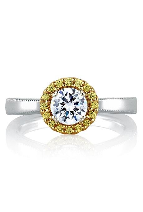 5aaX27PPUO8 - 30 ослепительных брачных колец с желтыми бриллиантами