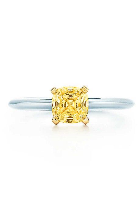 ushg j9alGg - 30 ослепительных брачных колец с желтыми бриллиантами